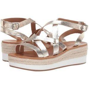 NEVER WORN Lucky Brand Wedge Sandal